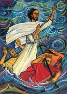 Jesus-calms-the-storm-sisters-turvey-abbey-216x300